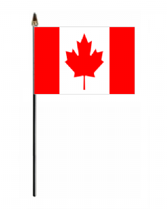 Canada Country Hand Flag - Small.